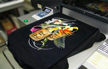 Виды печати на ткани